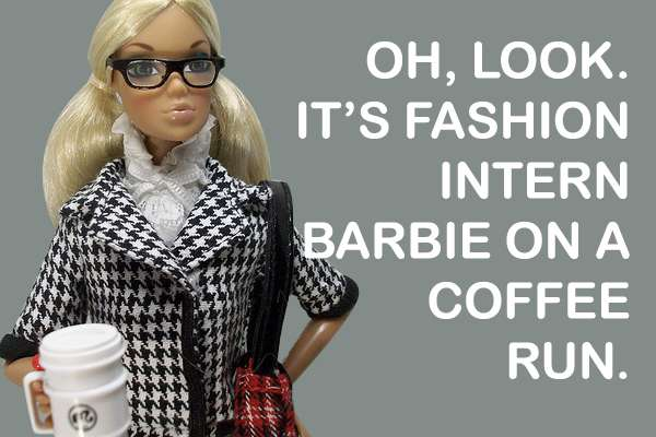 100 Barbie Doll Interpretations
