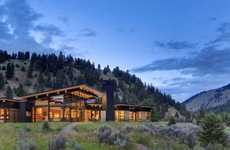 Glittering Mountain Homes