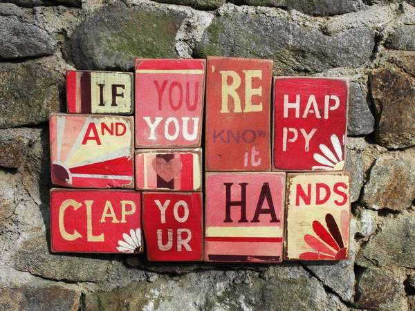 Adorable Wooden Wall Art Shabby Chic Signs By Art En Bois