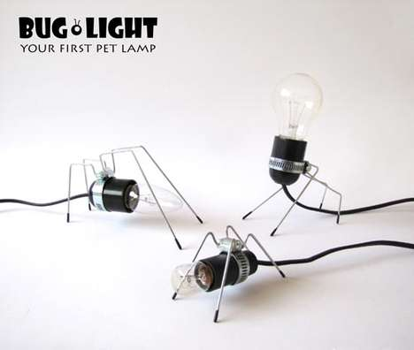 Insect-Inspired Light Fixtures