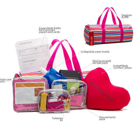 Charity-Supporting Care Packages - Bffl Co Creates Bags To Provide Comfort To Surgery Patients