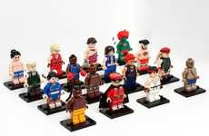 Fighting Game Mini Figures - Julian Fong Crafts Custom LEGO Toys Inspired by Street Fighter