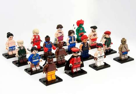 Julian Fong Crafts Custom LEGO Toys Inspired by Street Fighter