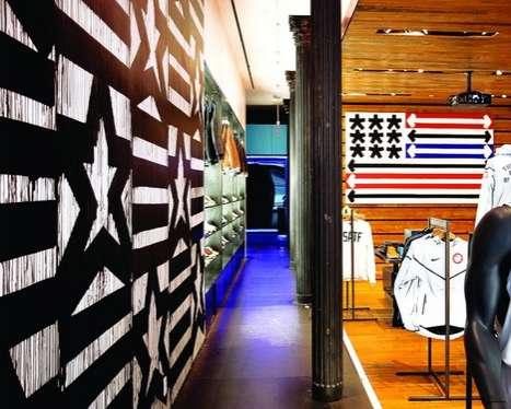 Patriotic Retail Installations