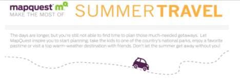 Summer Getaway Infographics