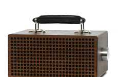 Modernized Vintage Amplifiers - The 'Tombox Speakers' Make Old Speakers New Again