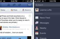 Forthcoming Social Media Features - Facebook's 'Save for Later' Tool is Belated