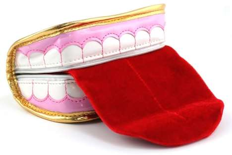 The Smiling Teeth Purse Transforms Pearly Whites into Purse Form