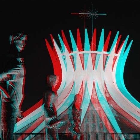 Iconic Optical Illusion Architecture
