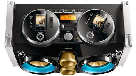 The Philips Fwp3200d Apple Dock is Perfect for Nomadic Musicians