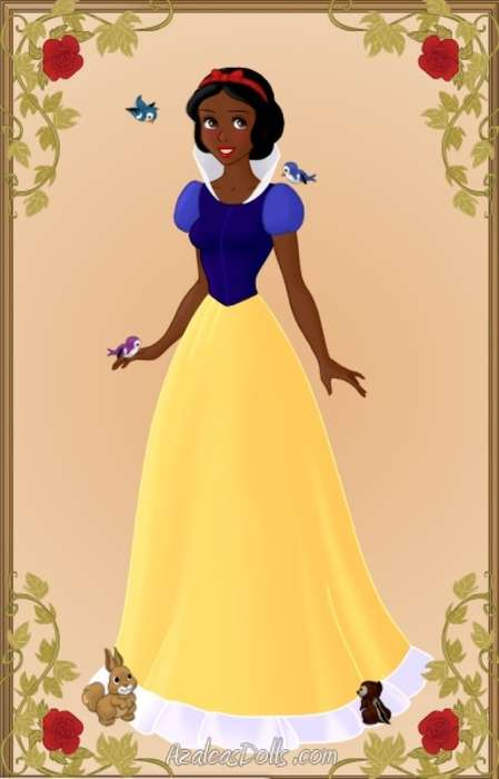 Race Re-imagined Damsels - Racially Altered Disney Princesses Touch on Feminist Issues