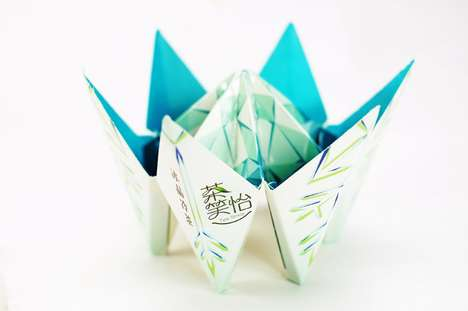 Cootie Catcher Cartons