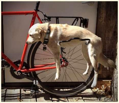 Pet-inspired Bike Racks