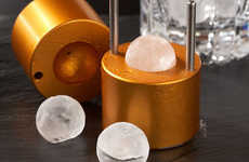 Spherical Ice Molds - The Williams-Sonoma Japanese Ice Maker Will Blow Your Mind
