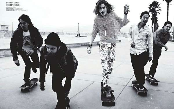 67 Savvy Skateboarding Editorials