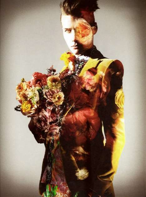 Androgynous Floral Pictorials