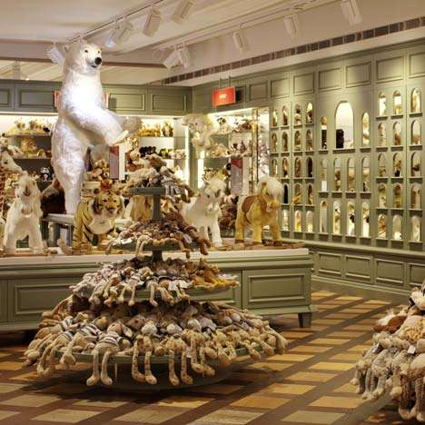 Gender-Neutral Toy Stores - Shed Architects Designs Harrods Toy Kingdom for Both Boys & Girls