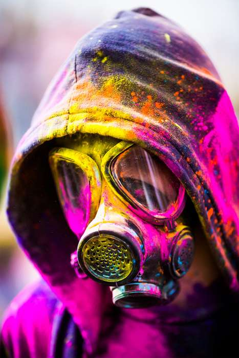 The 2012 Festival of Colors Photography by Thomas Hawk is Vibrant