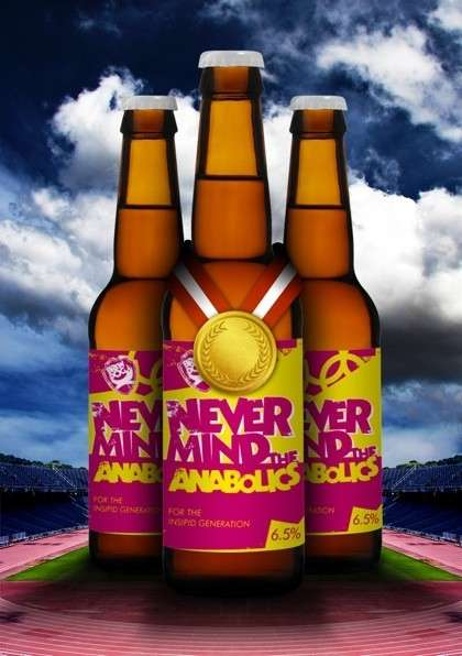 The BrewDog 'Never Mind the Anabolics' Beer Has Performance Enhancers