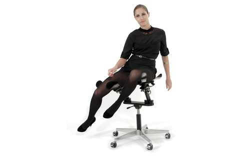 Backless Ergonomic Seating