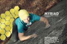 Honeycomb Bouldering Mats - The Myriad Crash Pad Covers and Conforms to Nature's Uneven Grade