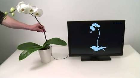 Touch-Enabled Musical Plants