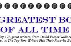Famous Literature Rankings - The Greatest Books Infographic Organizes Greatness
