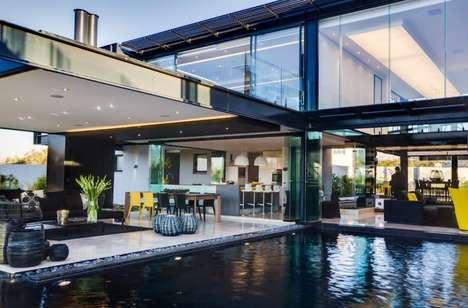 The Nico van der Meulen Architects 'Ber House' is Luxurious