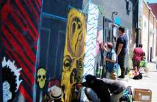 Graffiti-Based Youth Businesses - Streetcraft LA Helps Young People Turn a Profit On Their Art