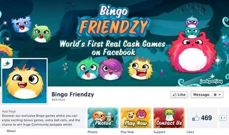 Social Media Gambling Games