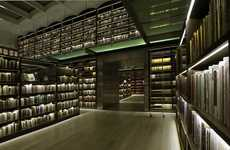 Led-Lit Libraries - The Castro Leal Library Uses Diode Lighting