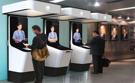 Virtual Triage Kiosks
