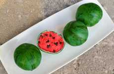 Fruit-Inspired Red Velvet Desserts - The 'Watermelon Cake Pops' are Adorably Delicious