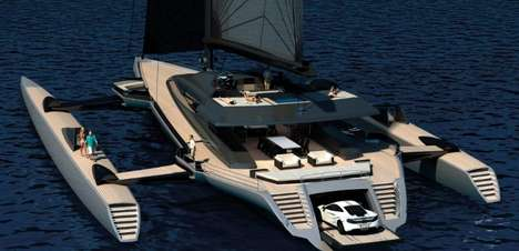 Parking Lot-Equipped Yachts