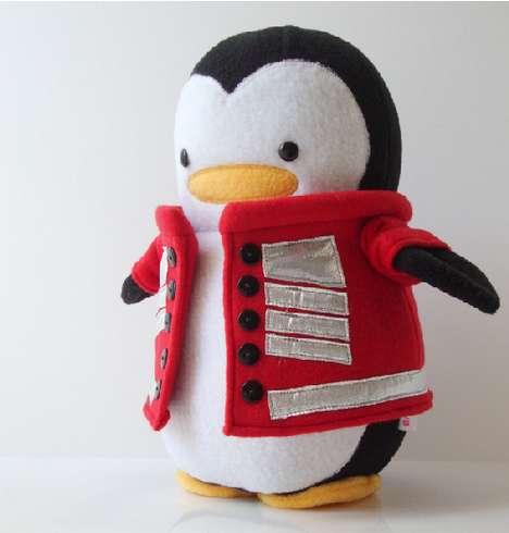 Adorable Arctic Avian Toys