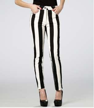 Jail House Striped Jeans : Motel Rocks Skinny Striped Jordan