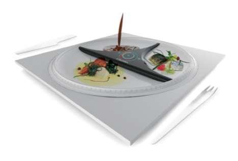 DJ-ing Dinner Plates