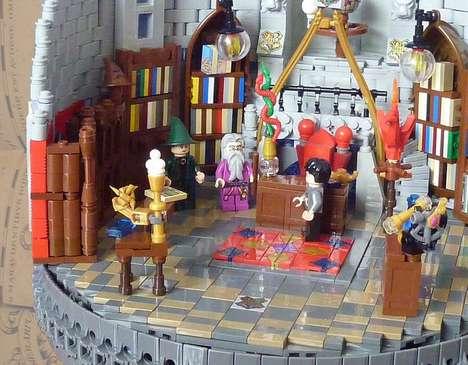 Toy Block Wizard Chambers