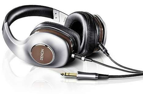 Luxuriously Comfortable Music Muffs - The Denon AH-D7100EM Headphones Have a Detachable Cable