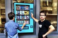 Charitable Artwork Dispensers - The Vending Machines by Wieden + Kennedy Raise Money for Schools