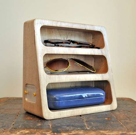 Wooden Sunglasses Holders