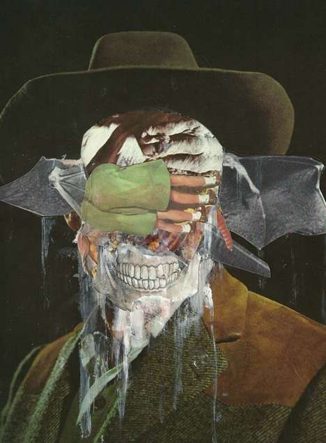Ghoulish Creepy Collages (UPDATED) - Beware: This Nicholas Lockyer Artwork May Give You Nightmares