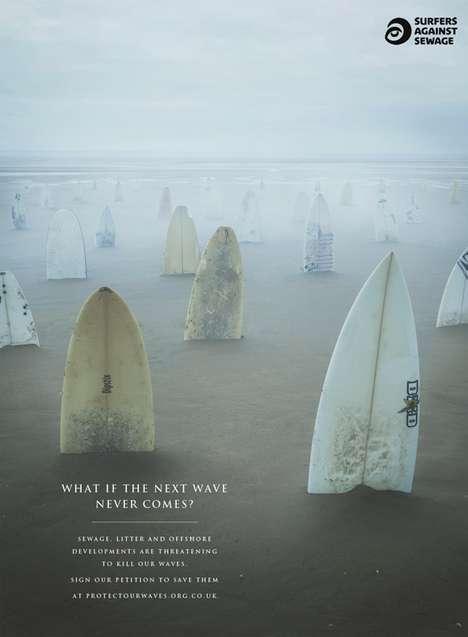 Surfer Graveyard Ads