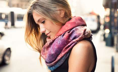 Sunkissed-Inspired Scarves