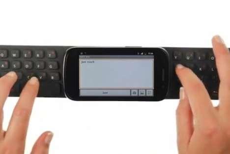 Foldable Waterproof Phone Keypads