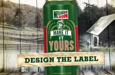 Malt Soda Rebranding Contests - Mountain Dew 'Discover Gold' Asks You to Rename & Redesign Packaging