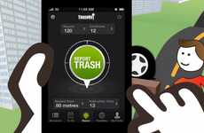 Garbage-Reporting Apps - TrashOut Encourages Users to Report Illegal Dumping Activities