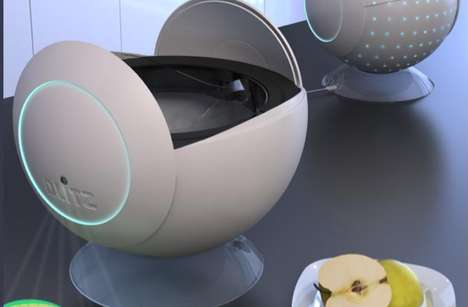 Futuristic Food Slicers