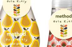 Delightfully Patterned Detergents - Method Orla Kiely Packaging Charms One's Sense of Sight