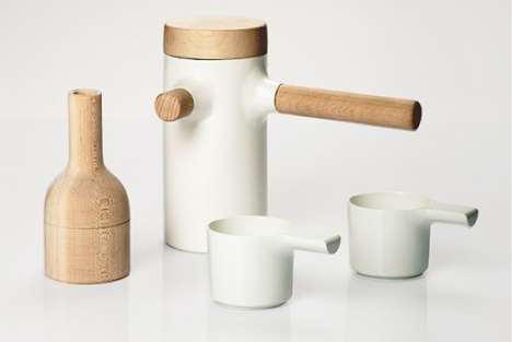Two-Material Tea Sets